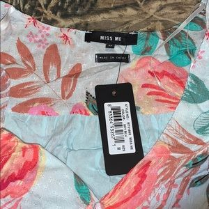 Miss Me Tops - Miss Me Blouse Top (NEW)